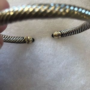 David Yurman Jewelry - David Yurman Black Onyx Cable bracelet